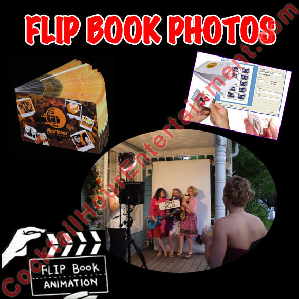 Bat Mitzvah Flipbooks