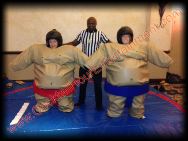 Bat Mitzvah Sumo Suits